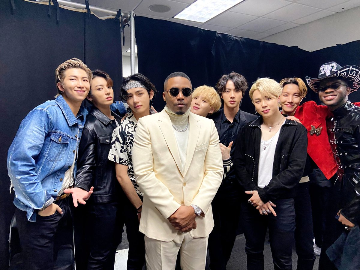 RT @BTS_twt: with Big @Nas & @LilNasX https://t.co/4swnGncwpC