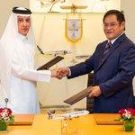 Image for the Tweet beginning: #QatarAirways is the Official Airline