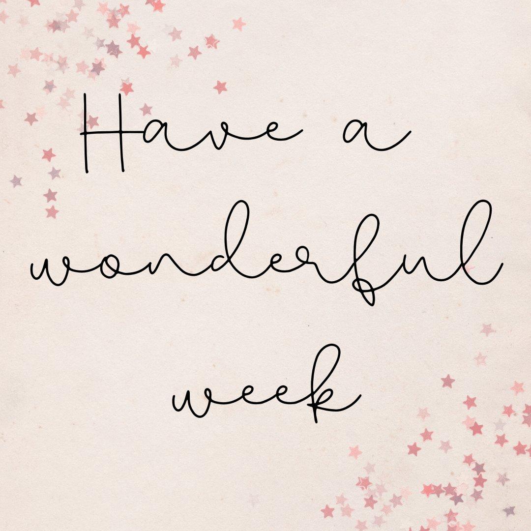 RT @_sarahlousmith: Happy Monday. Wishing you a wonderful week ♥️ #Monday #LiveYourBestLife https://t.co/1yP81gIEsy