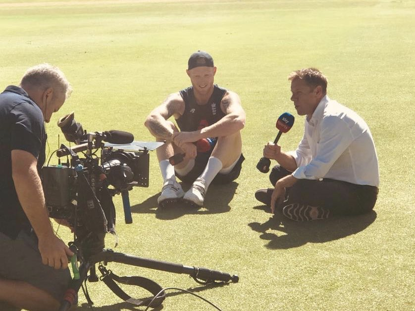 .@benstokes38 chats to @WardyShorts in the build-up to day four at The Wanderers 🇿🇦🏴 Watch #SAvENG live on Sky Sports Cricket from 7.30am 📺🕢
