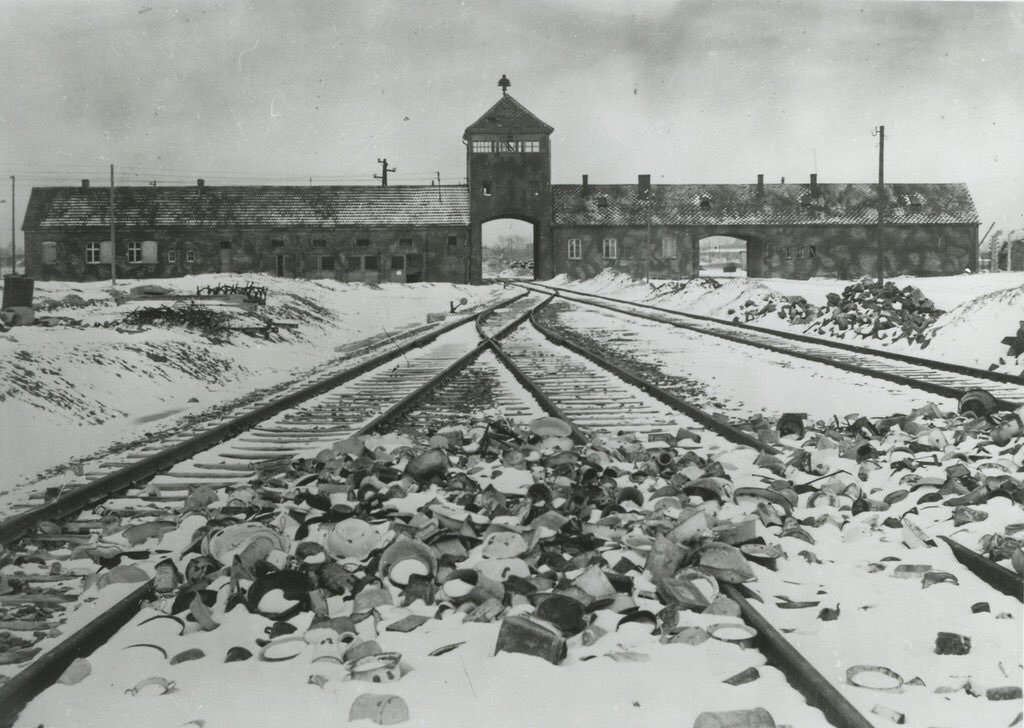 Today marks the 75th anniversary of the liberation of the Nazi German concentration & extermination camp Auschwitz-Birkenau. We honour all who died in Auschwitz & other #WW2 German camps. #HolocaustMemorialDay #Auschwitz75 #HMD2020 #HolocaustRemembranceDay #WeRemember #NeverAgain https://t.co/HunxFnbpDO