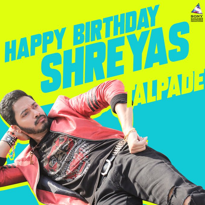 Wishing the OG \Poster Boy\ Shreyas Talpade a very happy birthday.