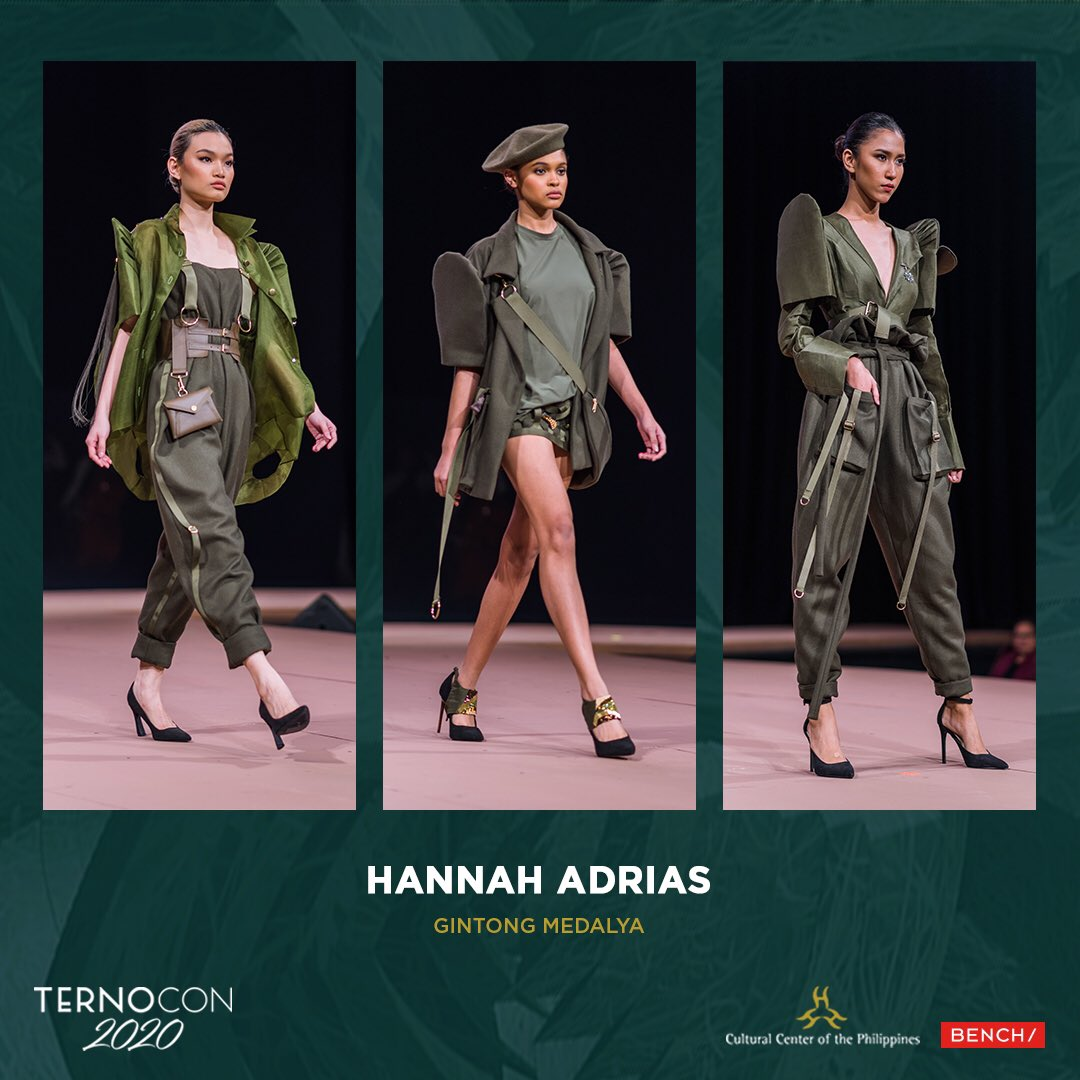 Bench On Twitter 1 2 Hannah Adrias Gintong Medalya From Pasay City And A Stellar Student Of The Slim S Fashion And Arts School Hannah S Advanced Talent Is Seen At Mr Higgin S Complex