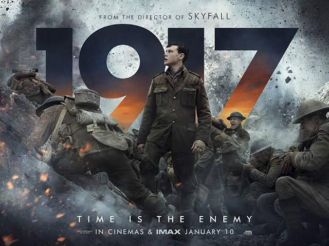 #1917Film - Cinematography பிரிச்சு மேஞ்சுட்டன்  Screenplay too   That starting 11 mins continuos shot mind blowing evn more if u watch it on #IMAX 1917 already nominated to Oscars for 10 categories   Worth watch for the money spent...Dont miss it  #RogerDeakins #SamMendes pic.twitter.com/9xix3W77uU