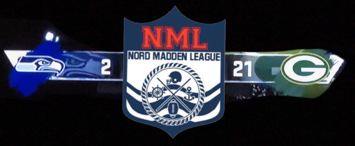 In den Playoffs bestritten Basti und Krausinho Game 1. 2:21 endete die Partie für Krausinho. #NFL100 #ranNFL #NordMaddenBowlpic.twitter.com/9D4i1YPvhx