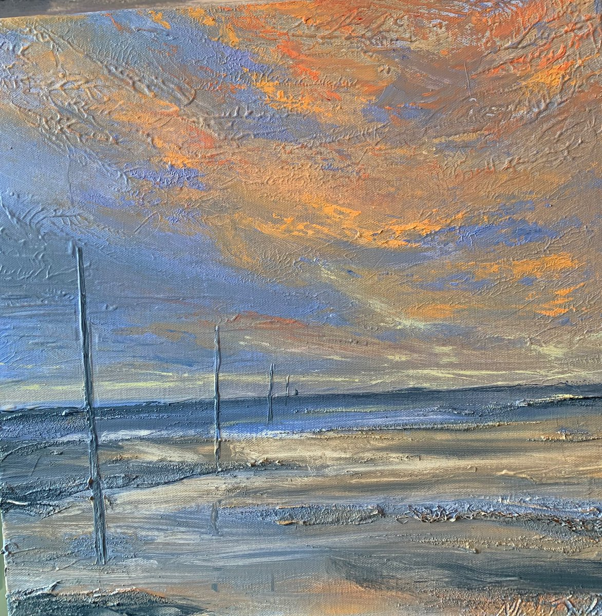 Paintings inspired by Northumberland. Gallery open at ten. <br>http://pic.twitter.com/a63CH4jHpv