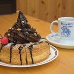 コメダ珈琲とゴディバがコラボした「ショコラシロノワール」がめちゃくちゃ美味しそう