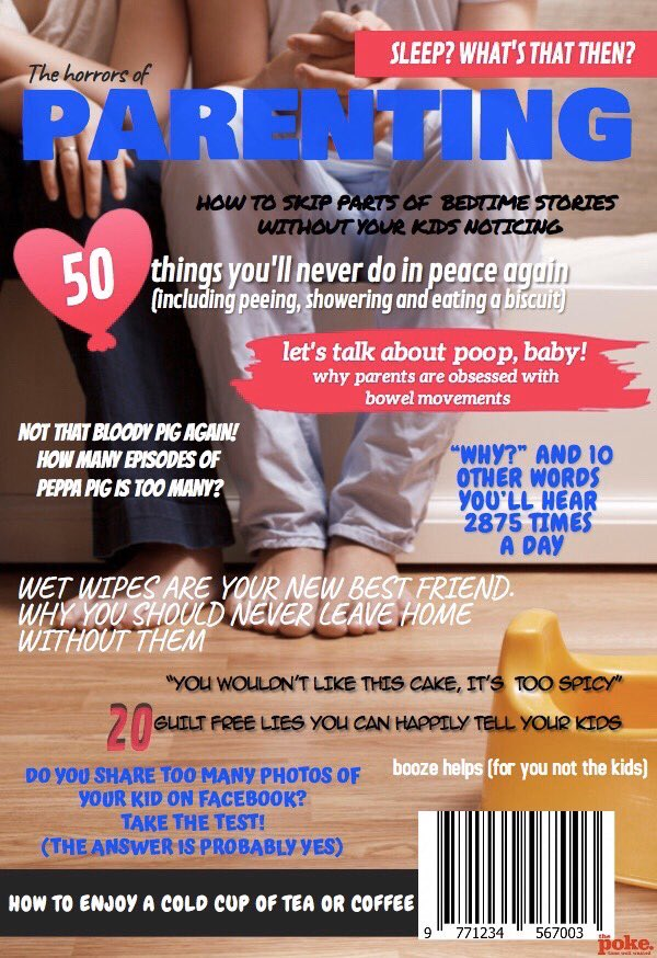 Looking forward to reading this new parenting magazine. thepoke.co.uk/2020/01/24/loo…