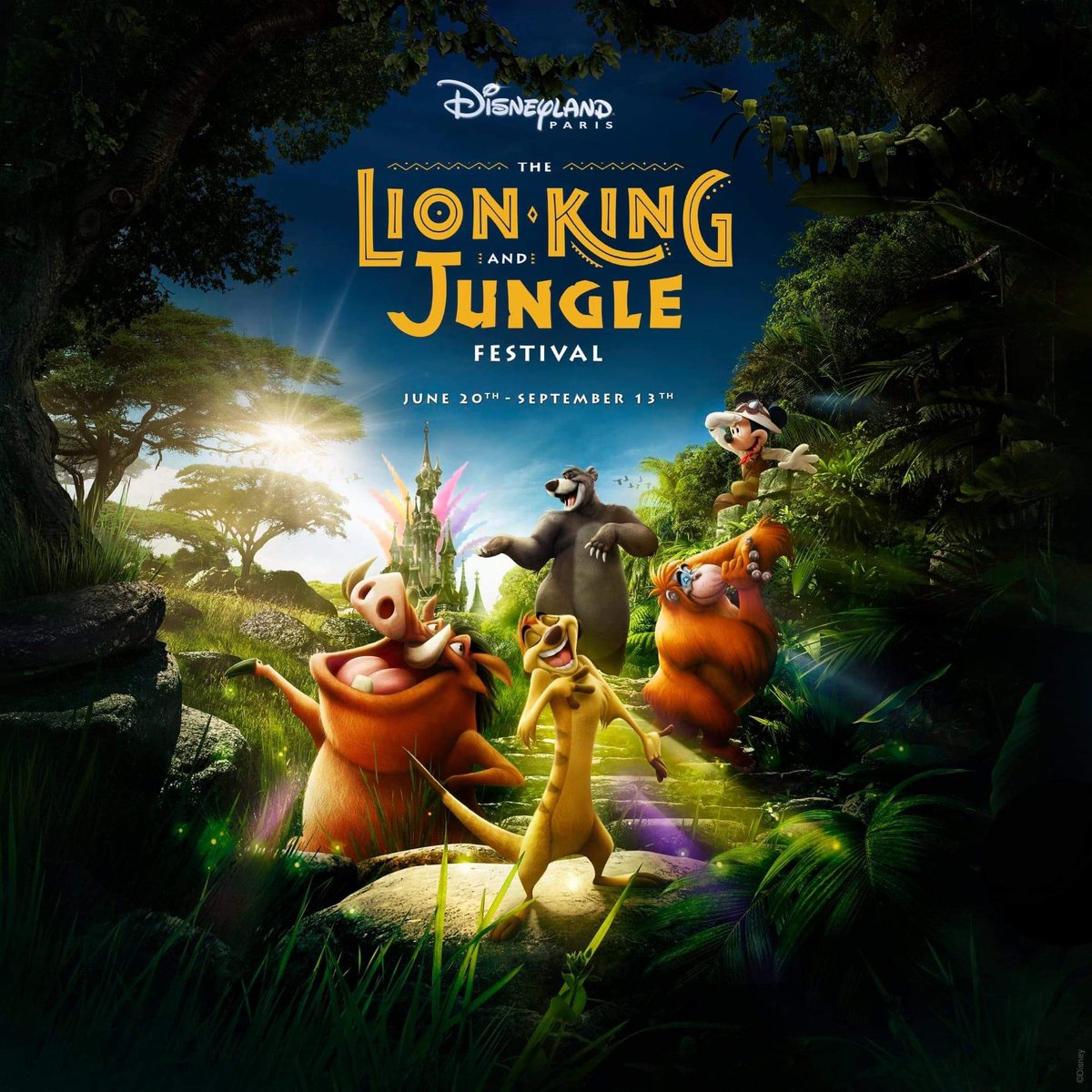 The Lion King and the Jungle Festival 2020