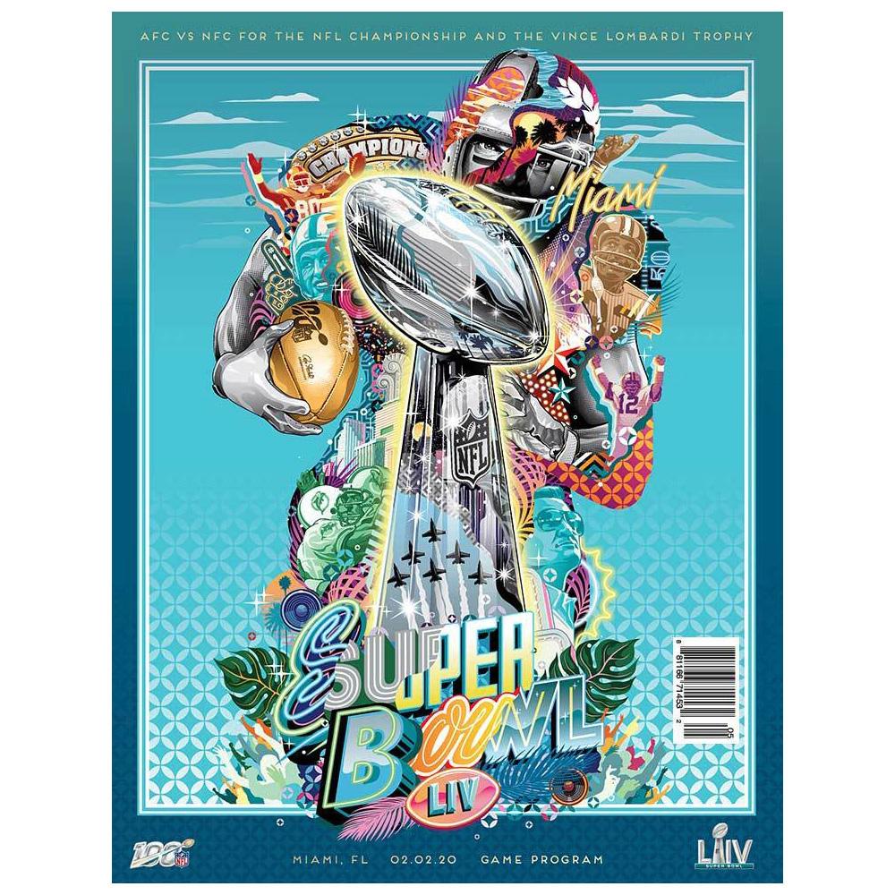 ついにスーパーボウルまであと一週間 プログラム絶賛予約受付中です#NFL #nfljapan  #NFLPlayoffs  #NFL100 #SBLIV #SuperBowlLIV #WeReadypic.twitter.com/dagw9vChXw