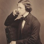 Image for the Tweet beginning: Lewis Carroll–born #OTD 1832–whose pseudonym