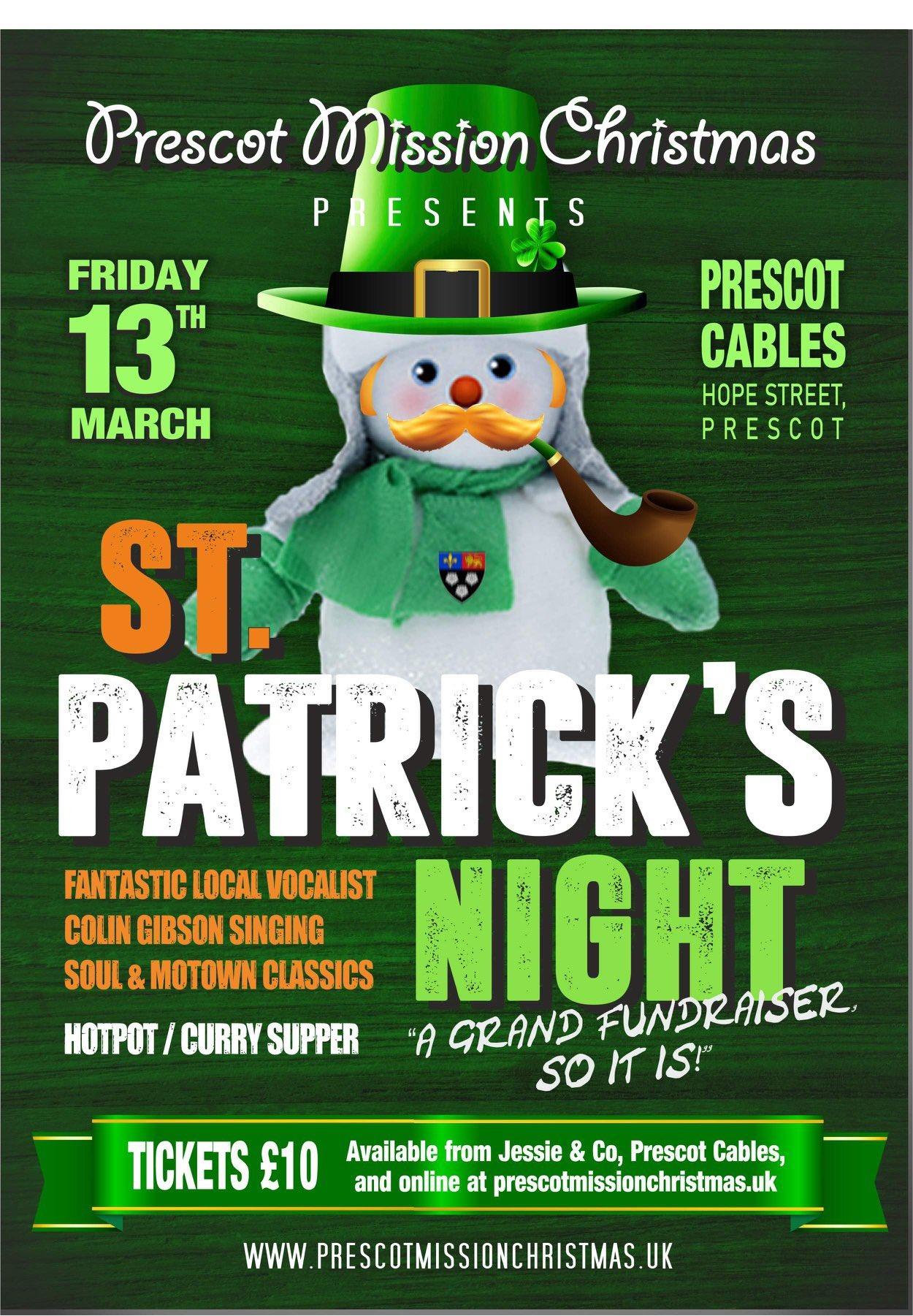 St Patrick's Night Fundraiser