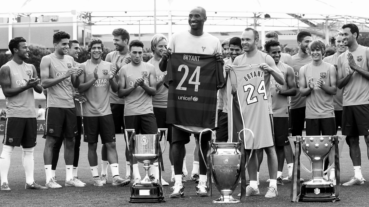test Twitter Media - Kobe Bryant & Barça, a story of mutual admiration  👇Thread 👇 https://t.co/p5jShDcDsr