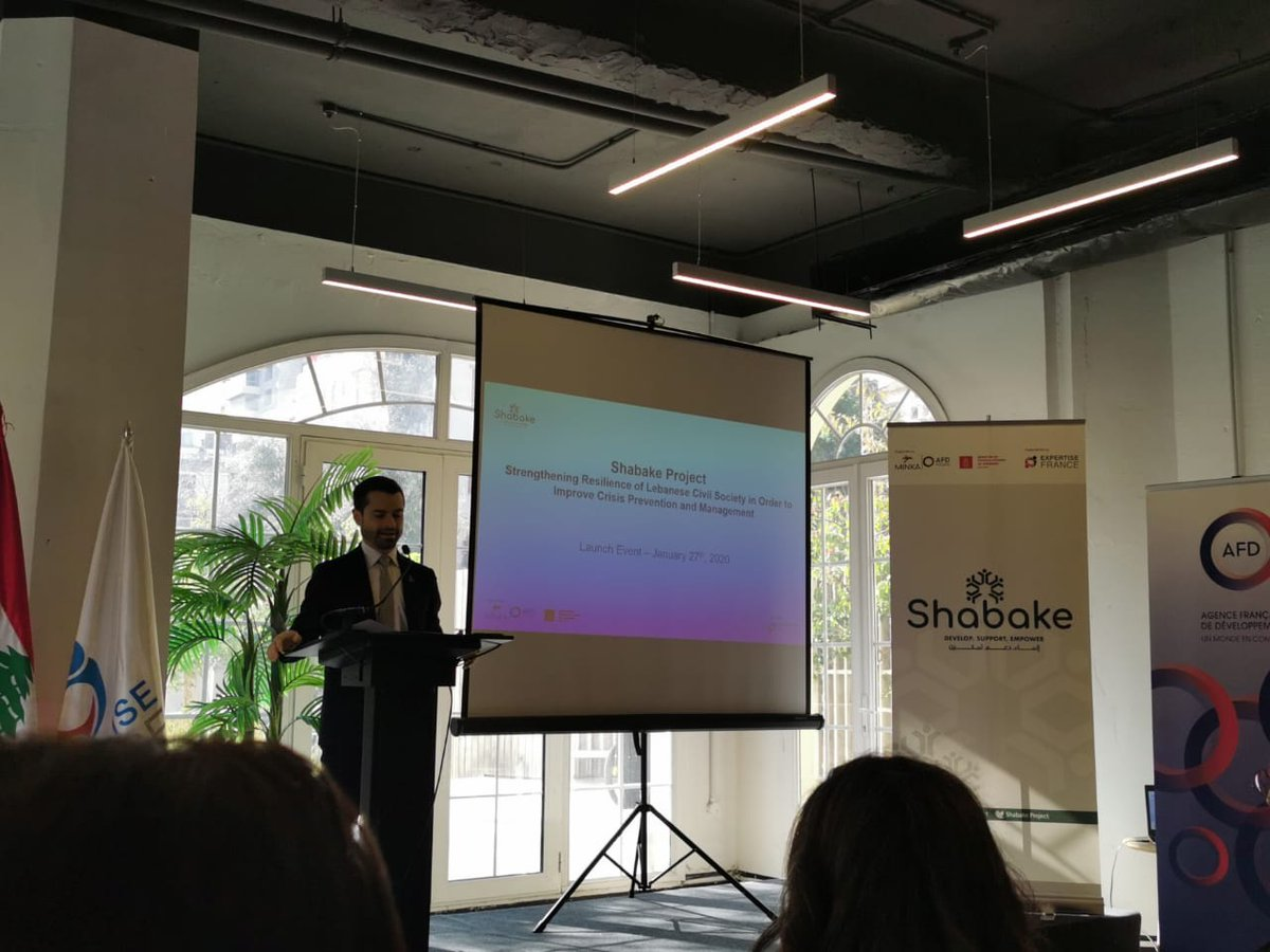 We're proud to take part in the #ShabakeProject launched today by @expertisefrance @antwork and funded by the French Development Agency (AFD) and the Danish International Development Agency (DANIDA). https://t.co/lr2gaQgguR