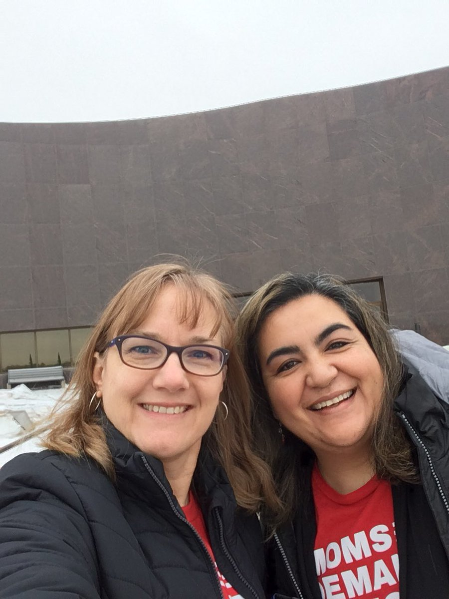 In Pierre SD with other volunteers for Moms Demand Action working for common sense gun safety laws. #SDleg #momsdemandaction #keepgoing <br>http://pic.twitter.com/CGfliV1JO8