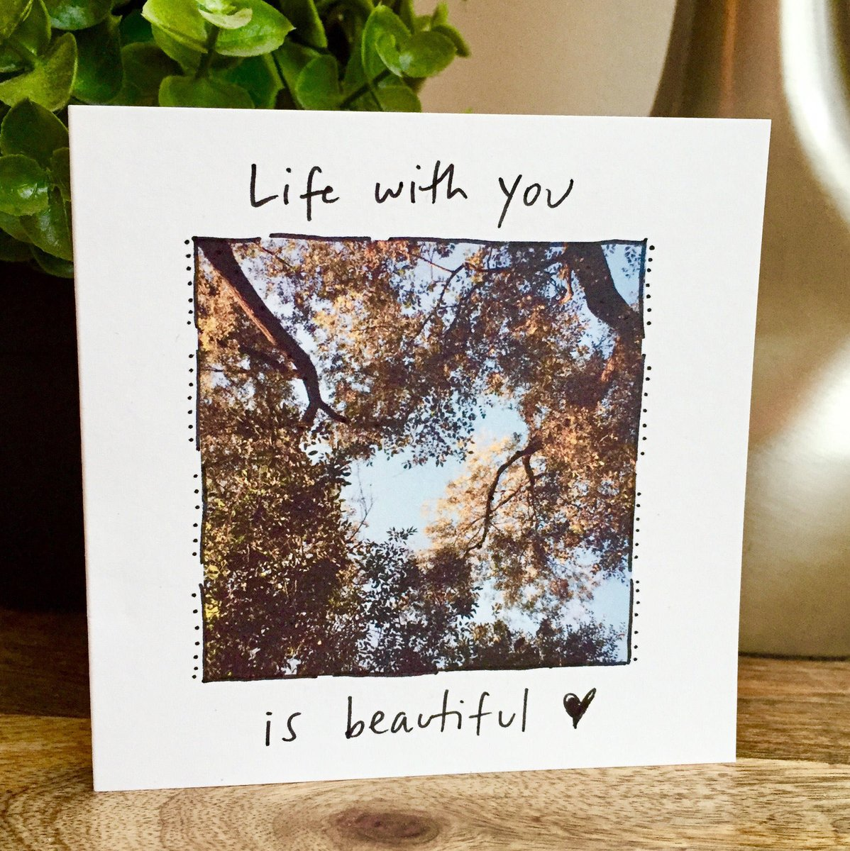 Excited to share the latest addition to my #etsy shop: Life is beautiful card, nature lover card, One Year Anniversary Card for husband, Paper Anniversary, anniversary card wife, 1st anniversary https://t.co/HKLLxxu81a #papergoods #naturelovercard #treecard #lifeisbeau https://t.co/1FGmpK7omj