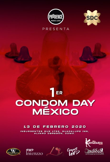 Buenos días. Ya tengo el acceso que voy a sortear para la fiesta SW del #CondomDay en #CDMX Serán sólo