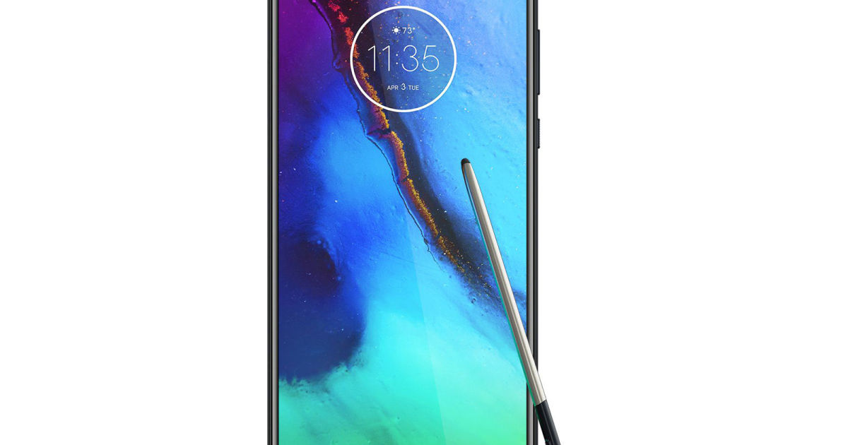 Motorola may be working on a pen-equipped Galaxy Note rival