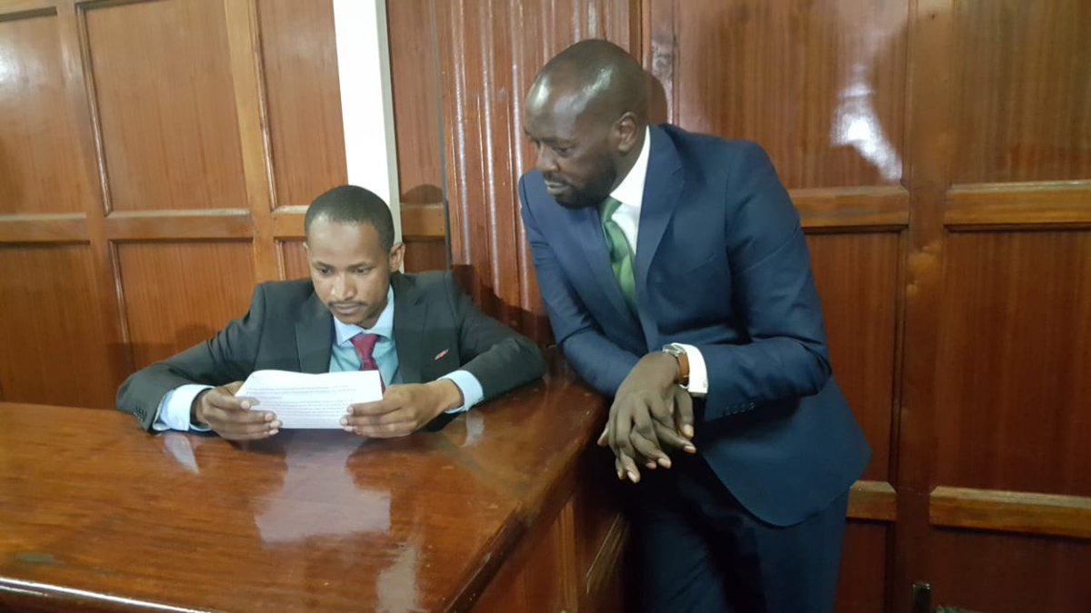 EMBAKASI EAST MP Babu Owino released on Sh10m cash bail in case over shooting of DJ; Sh2.5m to be paid before he leaves Industrial Area Remand Prison. #BabuOwino<br>http://pic.twitter.com/35wwoBSz1U