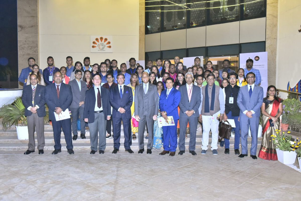 Secretary (CPV&OIA) interacted with the participants of 59th edition of #KnowIndiaProgramme during the Valedictory session in the presence of representatives of Fiji, Guyana, Mauritius, Myanmar, Sri Lanka, Trinidad and Tobago in India.