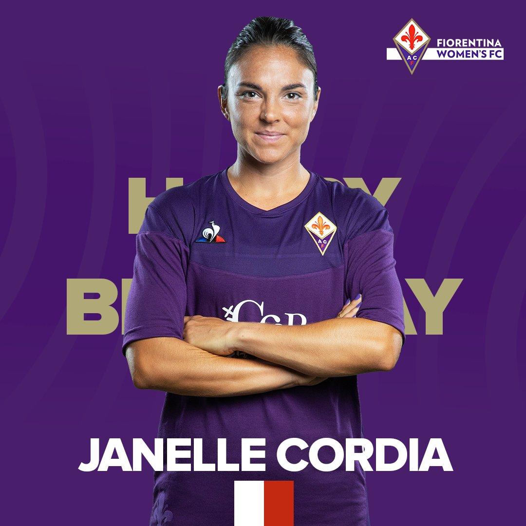 🎂 Tanti auguri Janelle! 🇺🇸 | Tap ❤️ to wish Janelle Cordia a happy birthday 🥳    #Fiorentina #HappyBirthday #BuonCompleanno #hbd https://t.co/RAp0HtO2Ux
