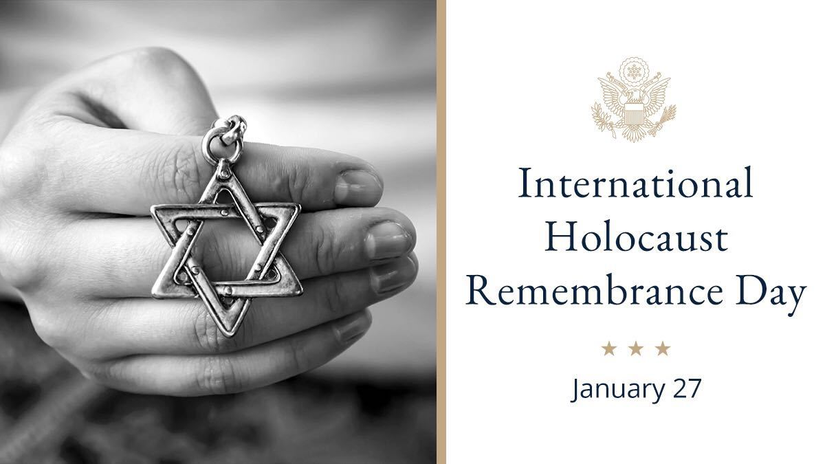 President @realDonaldTrump : On the 75th anniversary of the liberation of Auschwitz, #WeRemember  the 6 million Jews who perished in the Holocaust and recommit ourselves to the fight against anti-Semitism.  https://go.usa.gov/xd4xM   #NeverAgain