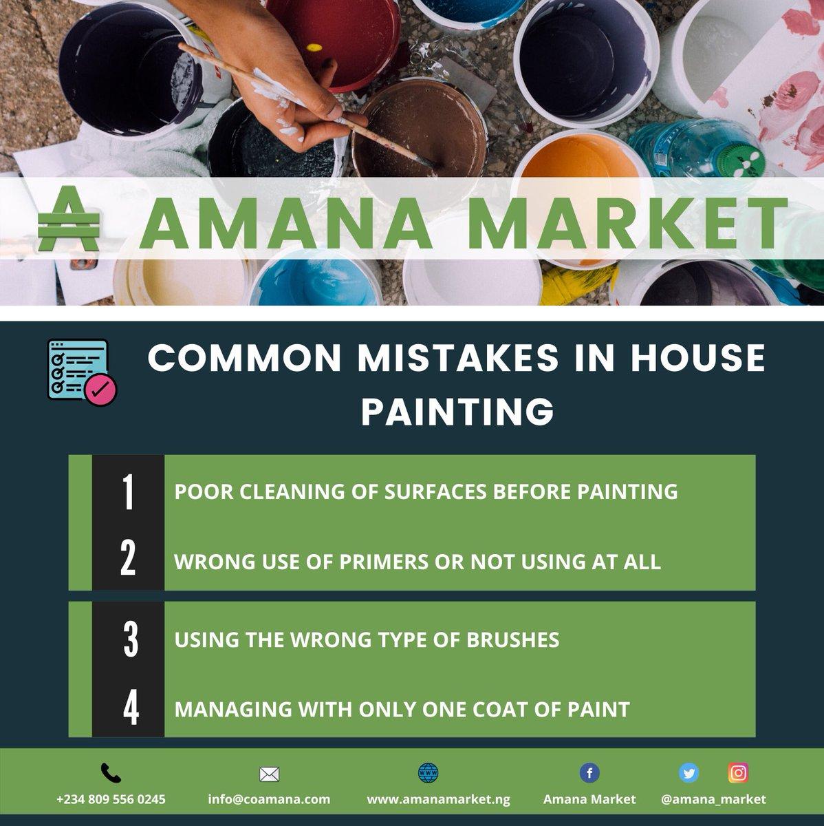 House painters! Register to Amana Market for free and meet new customers! (Link below) @GovKaduna @InvestKaduna —- Masu fentin gidaje, kaho ku yi rajista akan Kasuwar Amana  http://amanamarket.ng - #house #painting #housepainting #Amanamarketpic.twitter.com/eKl0oie6LS