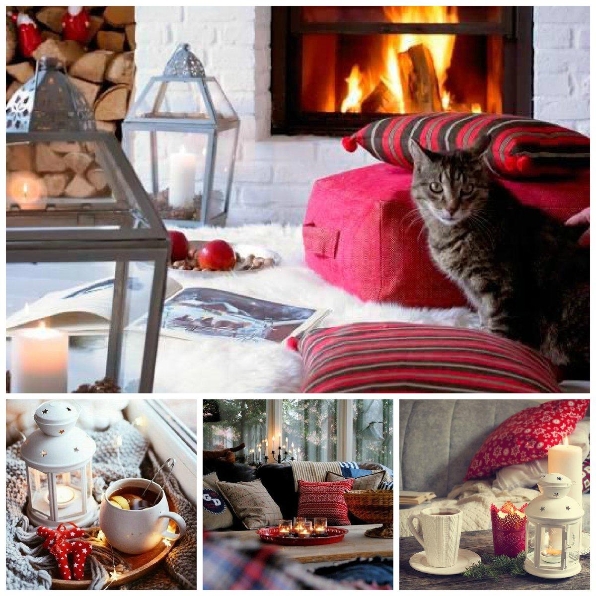 Картинки уютного зимнего вечера в кругу семьи