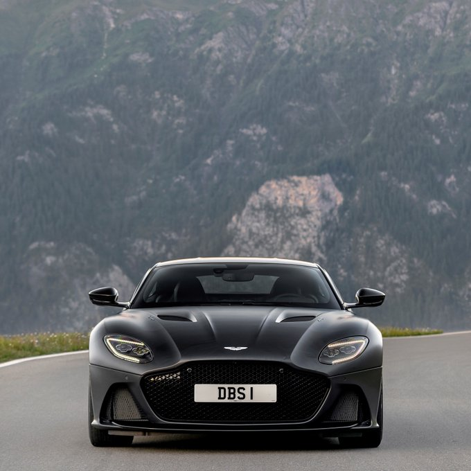 DBS Superleggera's presence is something…