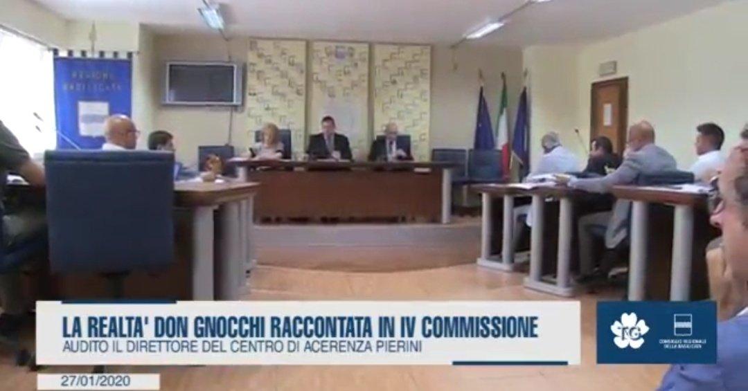 La realtà #DonGnocchi racconta in IV Commissione ...
