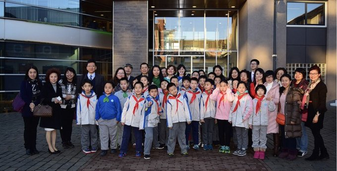 Chinese school zegt ontmoeting met Bernadetteschool af https://t.co/nL6F7riWj9 https://t.co/BnIJyOZOuN