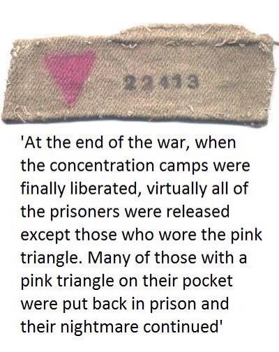 History must not be repeated.  International #Holocaust Remembrance Day. An estimated 65% of gay men in concentration camps died between 1933 and 1945. After World War II, both East & West Germany upheld the country's anti-gay law & many remained incarcerated until the early 70s pic.twitter.com/IKPQLCzvb4