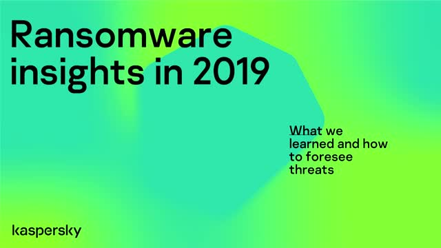 Kaspersky ran a webinar looking back at the key highlights for ransomware in 2019.  They look at key vectors for spreading malware, as well as how businesses can best protect their networks.   http://klab.so/410E71pic.twitter.com/rFEenGDn43