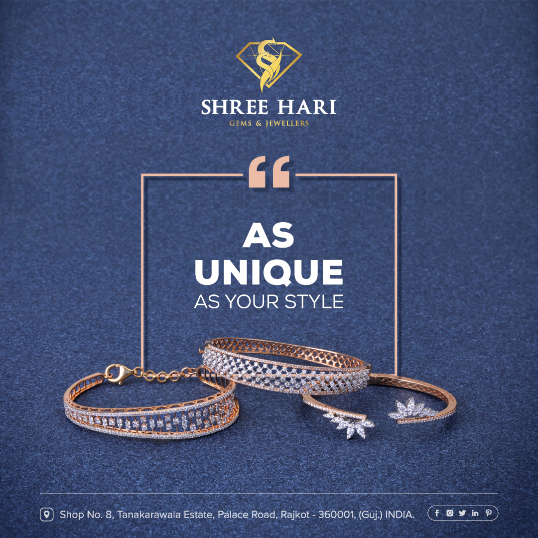 As Unique as your Style . . . #ShreeHari #ShreeHariJewellers #Jewellers #Collection #Gold #Silver #JewelryArt #GoldJewellery #Jewellery #Fashion #Gold #Bracelet #Jewels #Style #Accessories #Love #Ring #Wedding #FashionJewelry #Necklace #Earrings #Trendsetter #OnTrend