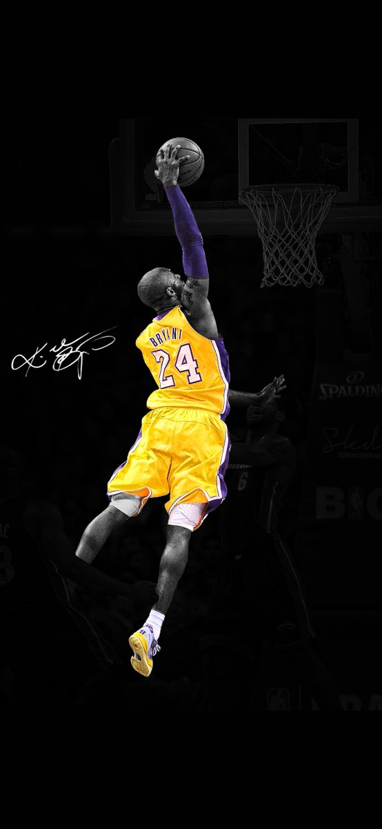 3wallpapers For Iphone On Twitter Iphone Wallpaper Kobe Byant