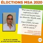 Image for the Tweet beginning: [ ÉLECTIONS MSA 2020 ] Jusqu'au