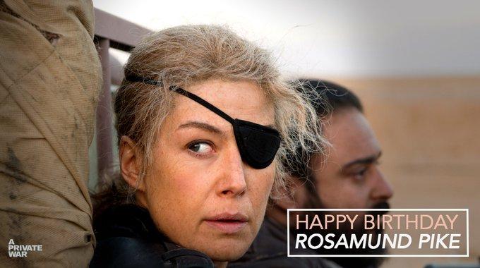 Happy Birthday to the phenomenal Rosamund Pike