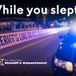 Image for the Tweet beginning: While you slept, Norwalk deputies