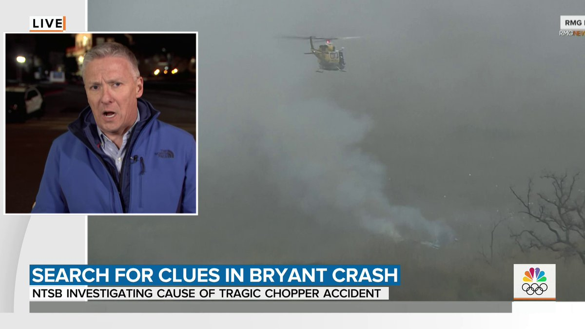 As tributes continue to pour in for Kobe Bryant, we're learning more about the crash, with both the FAA and NTSB investigating. @tomcostellonbc joins us with more, including why the helicopter might've been flying while others were grounded.