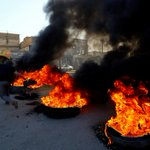 Image for the Tweet beginning: Two Iraq protesters killed as