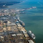 Image for the Tweet beginning: The Port of Southampton is