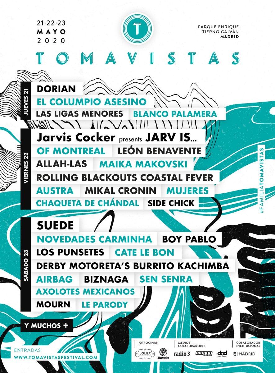 Tomavistas 2021 (Madrid): Jarvis Cocker, Suede, León Benavente, El Columpio Asesino EPSaSChXkAY4iaD?format=jpg