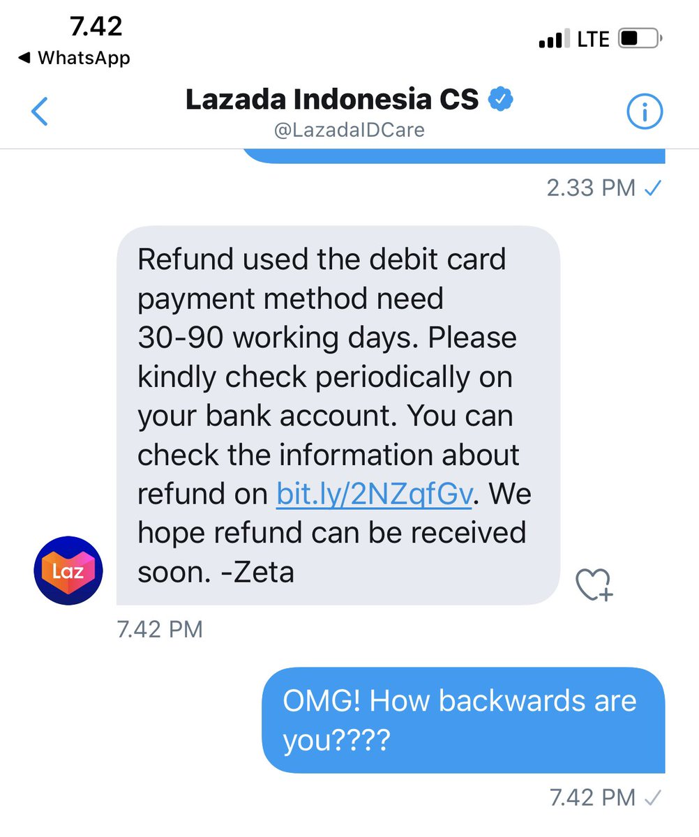 N Mark Castro On Twitter Forgive Me Tokopediacare For Trying Lazadaidcare Lazadaid Because I Learned My Lesson From Their Incompetent Policies Kudos To You For Being Flexible And Advanced Thinking In Returning