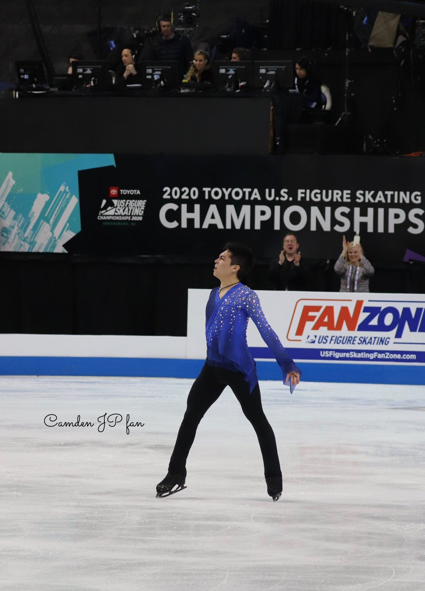 Moments like these are what I skate for.💙I enjoyed performing at the US Championships. Thank you to everybody who supported me so far through my senior debut season. Also, I'm very pleased to have been selected for the Four Continents Championship in Seoul, Korea in two weeks!🇰🇷