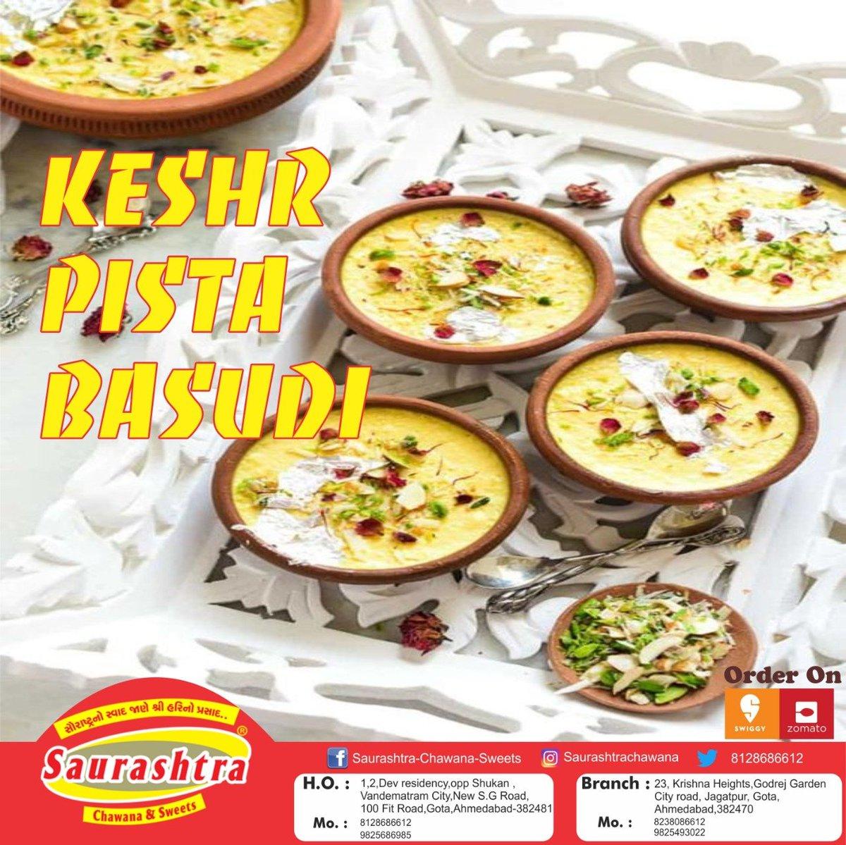 Keshar Pista Basudi Yummy sweet on Saurashtra Chawana & Sweets . . .. #sweets #dessert #food #chocolate #foodporn #yummy #foodie #cake #sweet #delicious #desserts #instafood #love #candy #cakes #sweettooth #foodphotography #cookies #christmas #treats #homemade #baking