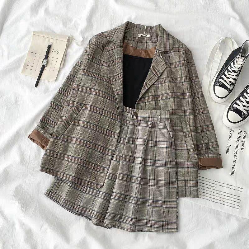 เซ็ทสูท+กางเกงขาสั้น เป็นสาวคูลลุคเท่ๆ หรือจะแซ่บๆพริกสิบเม็ดก็ได้ เลือกตามใจเลยค่า🌟🌟 399 B #เสื้อผ้าสไตล์เกาหลี #เสื้อผ้าแฟชั่น