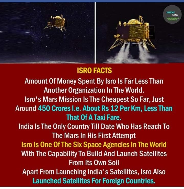 "It's  all because of hard work and believe. Every single second our scientists do more better than before ""I love my country "" #ISRO #India<br>http://pic.twitter.com/Wd2yWgVldh"