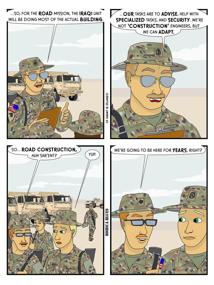 New BOHICA Blues is up!   #webcomic #webcomics #comic #comics #bohica #military #army #usarmy #usar #veteran #veterans #nationalguard #comicstrip #funny #humor #comix #artist #illustration #illustrations #cartoon #cartoons #makecomics #indie