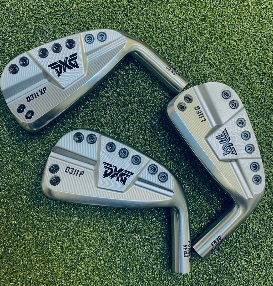 Introducing the New PXG Gen3 Irons-  About to enter the #SGGT fitting studio. #PXG Fittings available. <br>http://pic.twitter.com/q7u9fxEMaG