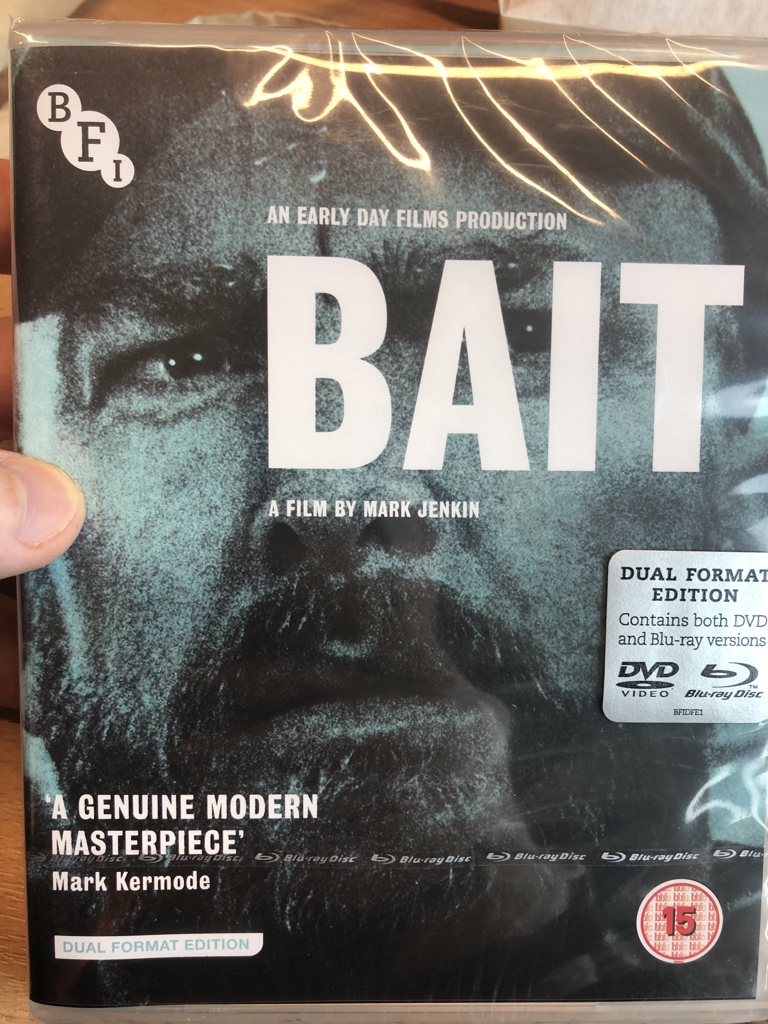 Had to pick up one of my favourites of last year. Mark Jenkin's amazing Bait @BFI #bestof2019 <br>http://pic.twitter.com/DNrPT1fXLQ